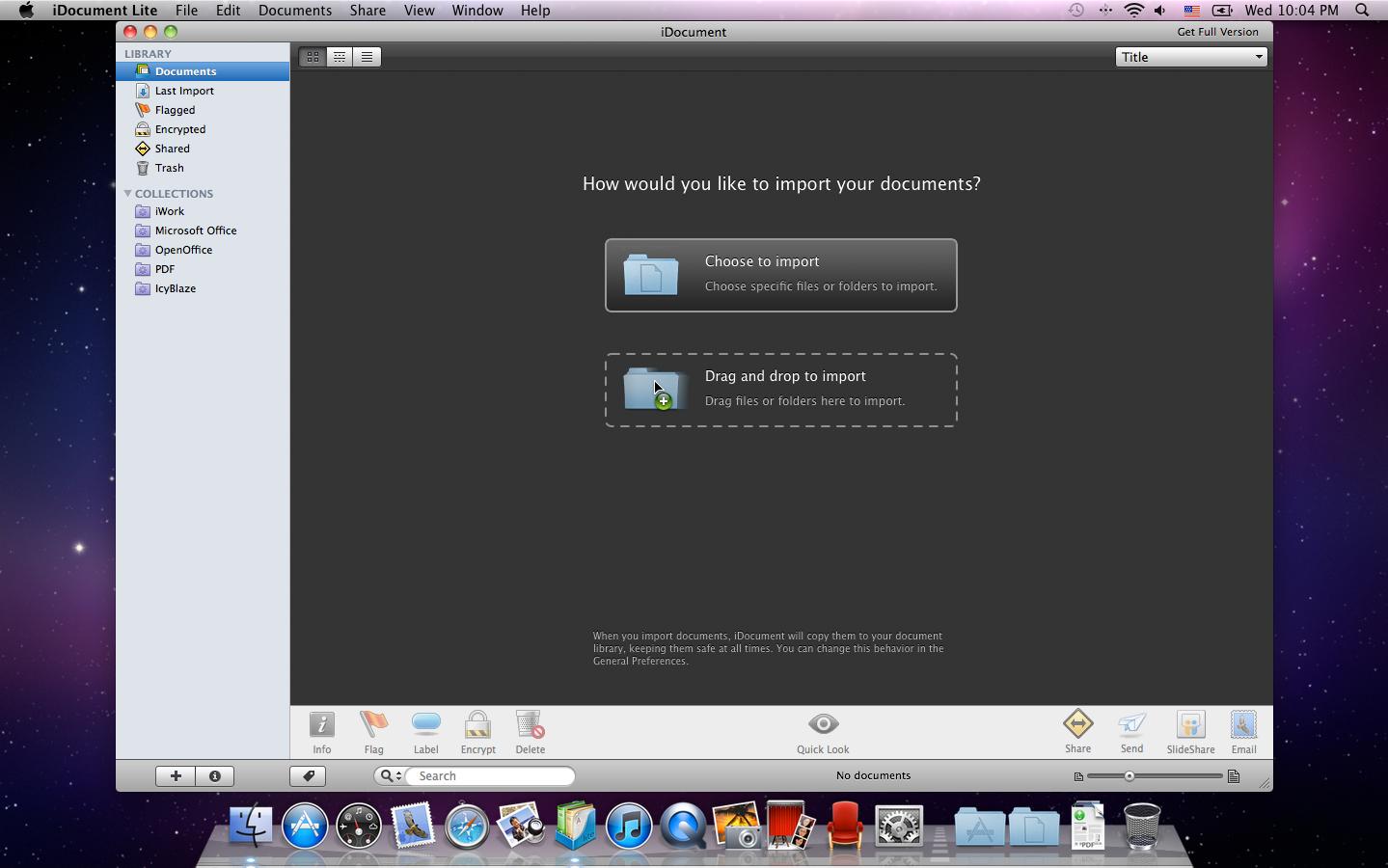 iDocument Screenshot