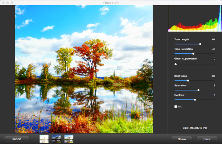 Photo HDR for Mac Screenshot