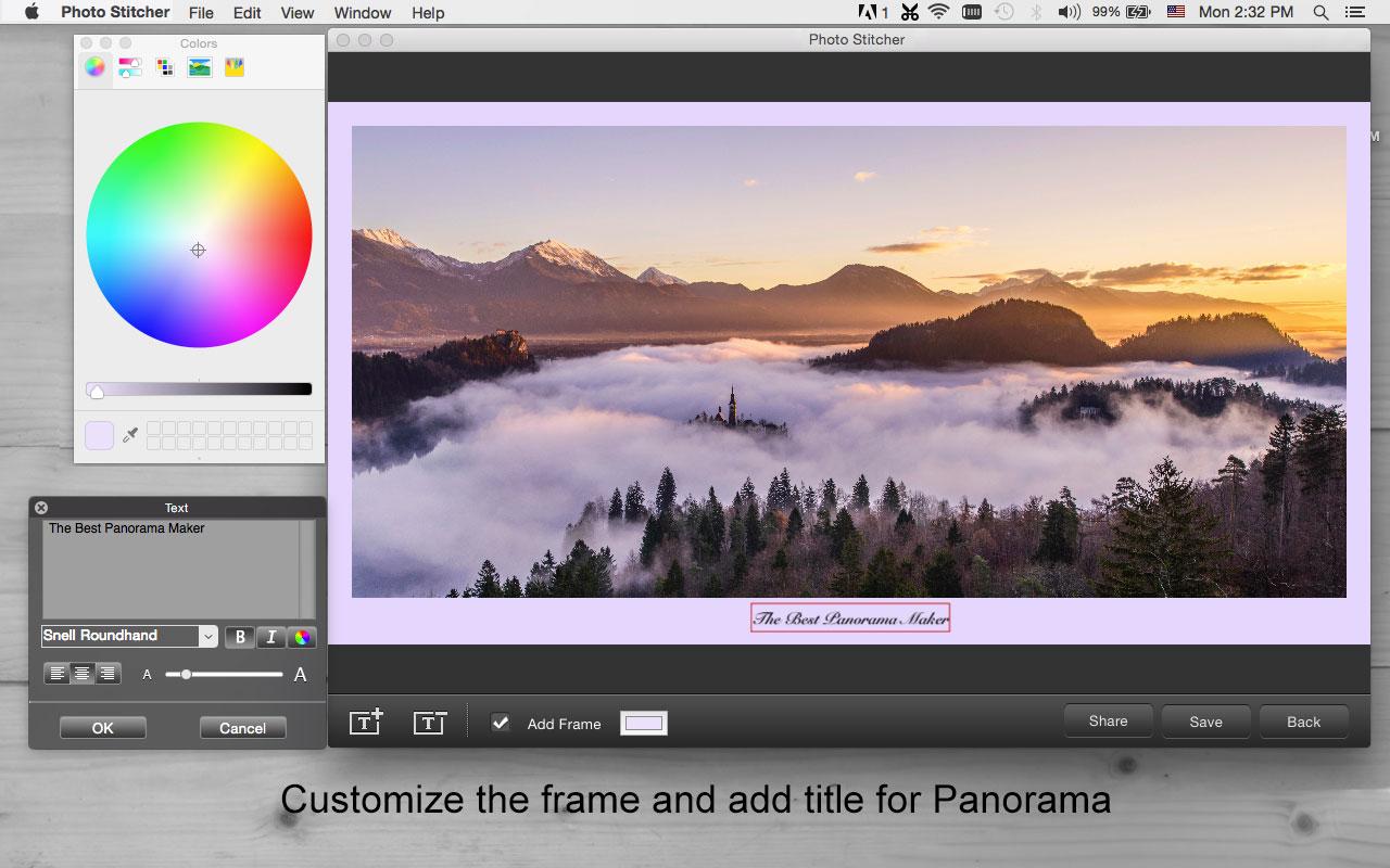 iFotosoft Photo Stitcher for Mac, Design, Photo & Graphics Software Screenshot