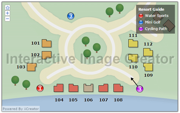 iiCreator Interactive Image Creator, Photo Editing Software Screenshot