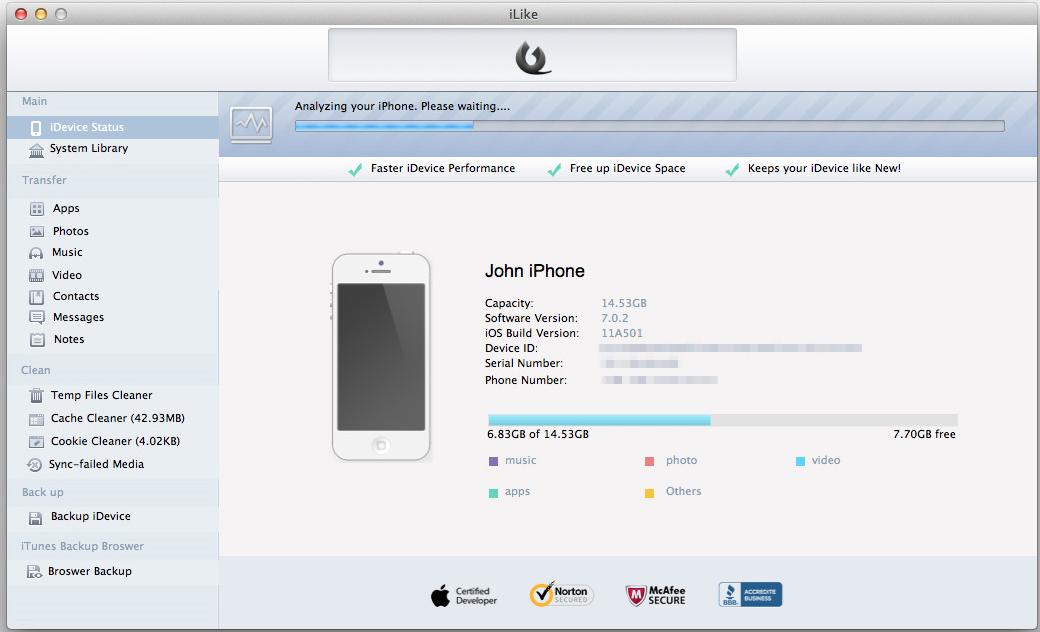iLike Screenshot