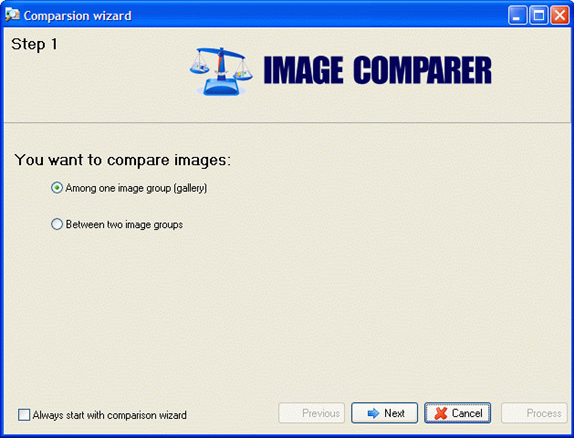 Image Comparer, Photo Manipulation Software Screenshot