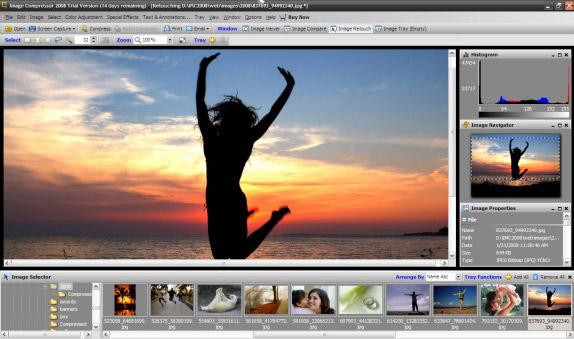 Image Compressor Screenshot