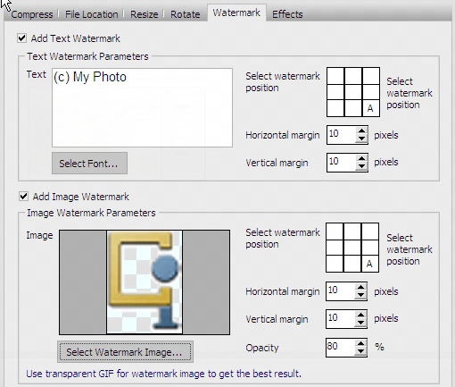 Design, Photo & Graphics Software, Image Compressor Screenshot