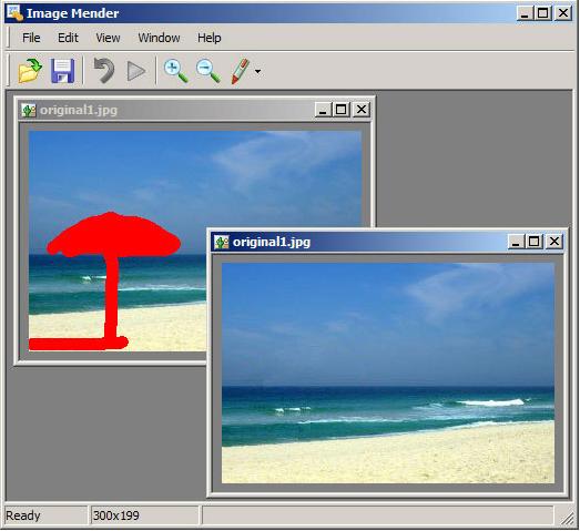 Image Mender Screenshot