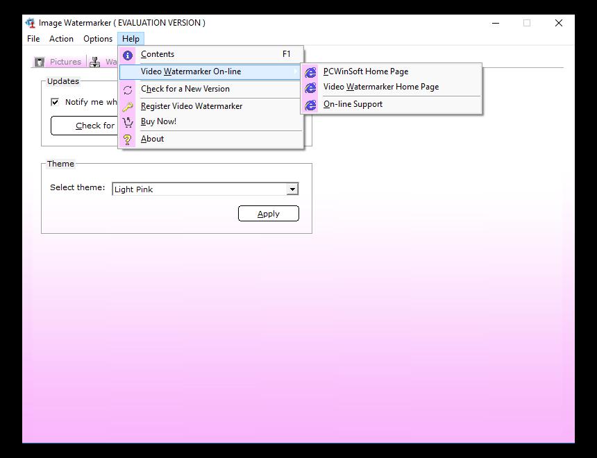Batch Image Software, Photo Watermark Studio Screenshot