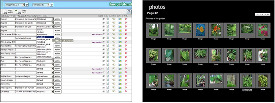 ImageIsland, Web Slideshow Software Screenshot