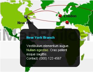 Flash Software, iMapBuilder Screenshot