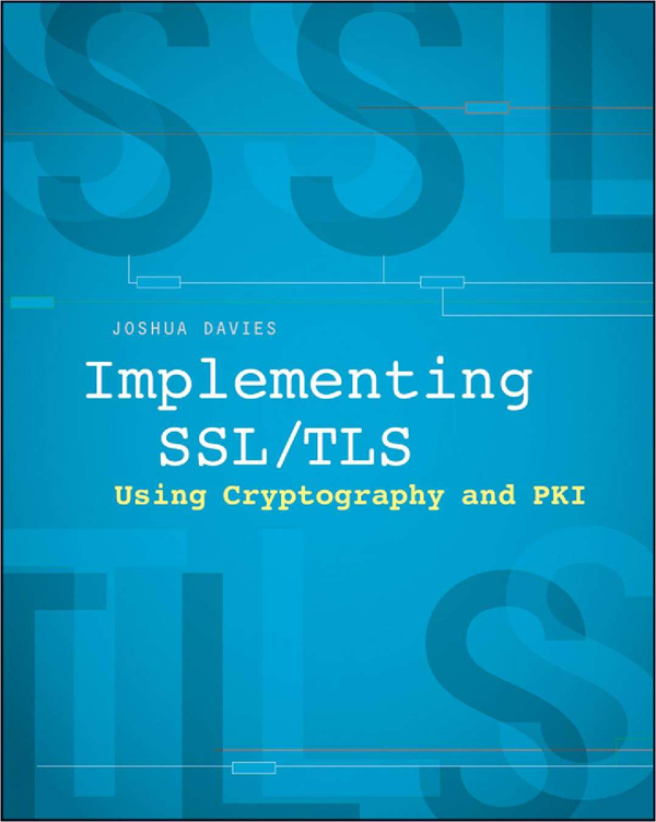 Implementing SSL / TLS Using Cryptography and PKI (FREE eBook) Usually $39.99 Screenshot