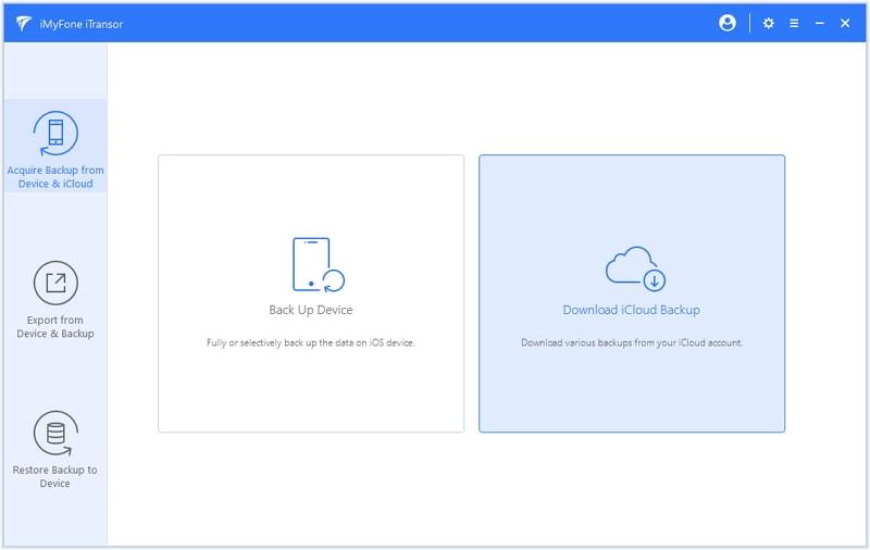iMyfone iTransor, Security Software Screenshot