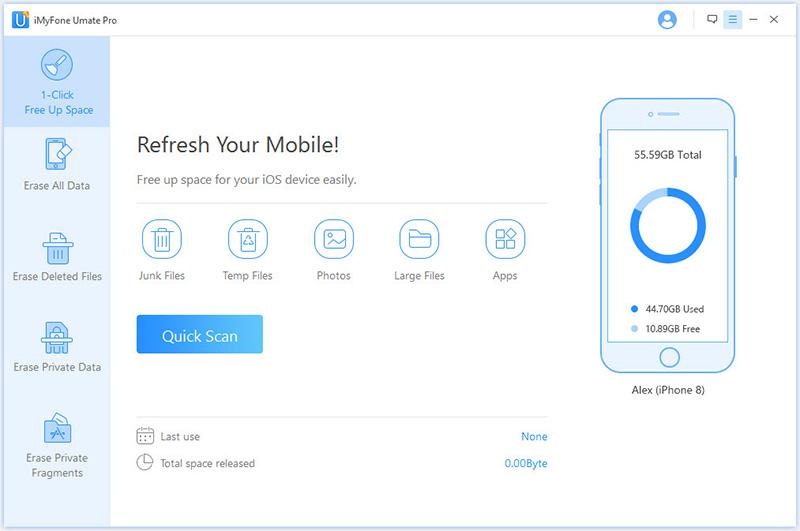 iMyfone Umate Pro (Family License) Screenshot