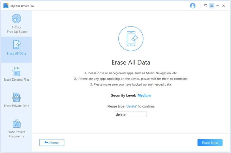 iMyfone Umate Pro (Family License), Software Utilities, File Management Software Screenshot