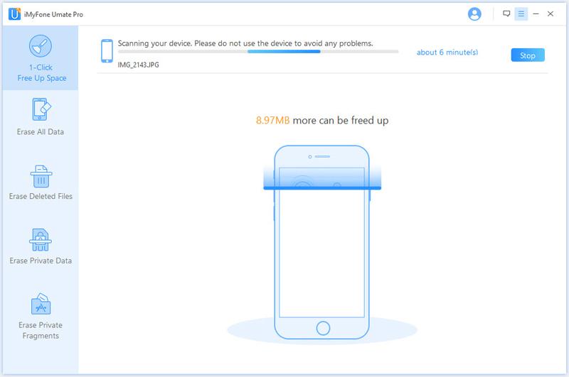 iMyfone Umate Pro (Family License), File Management Software Screenshot