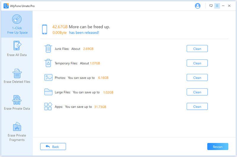 iMyfone Umate Pro (Family License), Software Utilities Screenshot