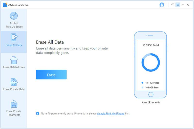 Software Utilities, iMyfone Umate Pro (Family License) Screenshot