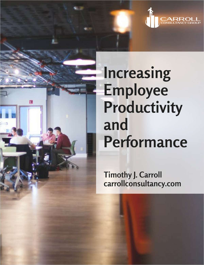 Increasing Employee Productivity and Performance Screenshot