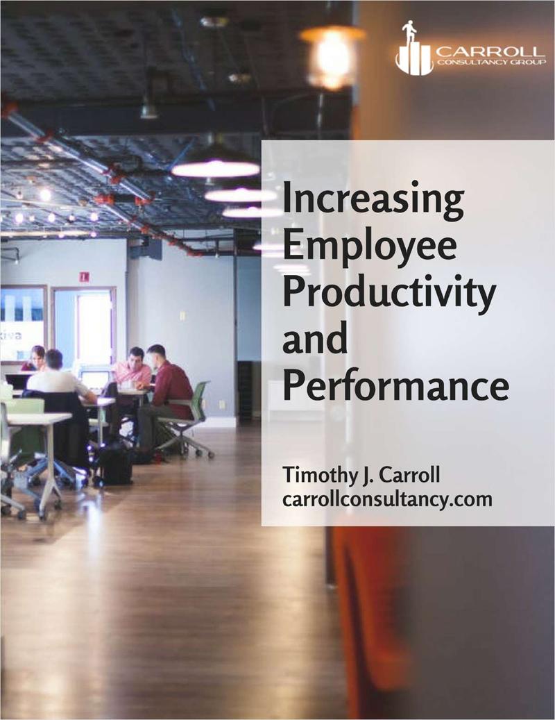 Increasing Employee Productivity and Performance Screenshot