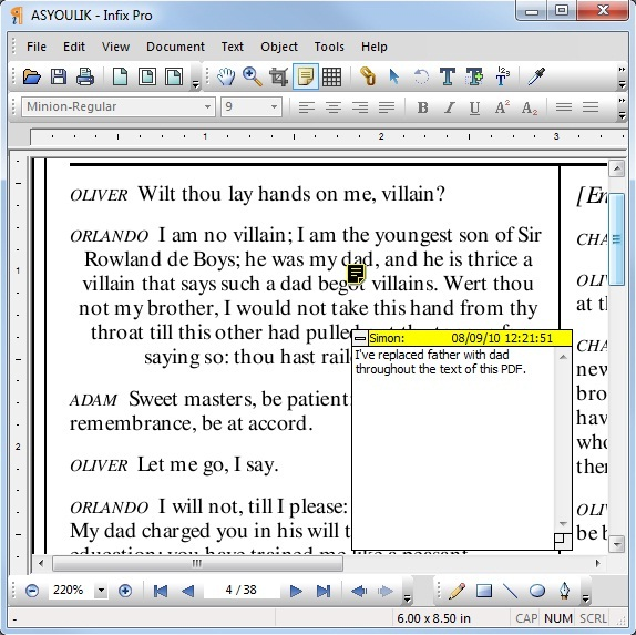 Infix PDF Editor, PDF Utilities Software Screenshot
