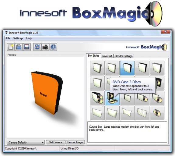 Innesoft BoxMagic Screenshot