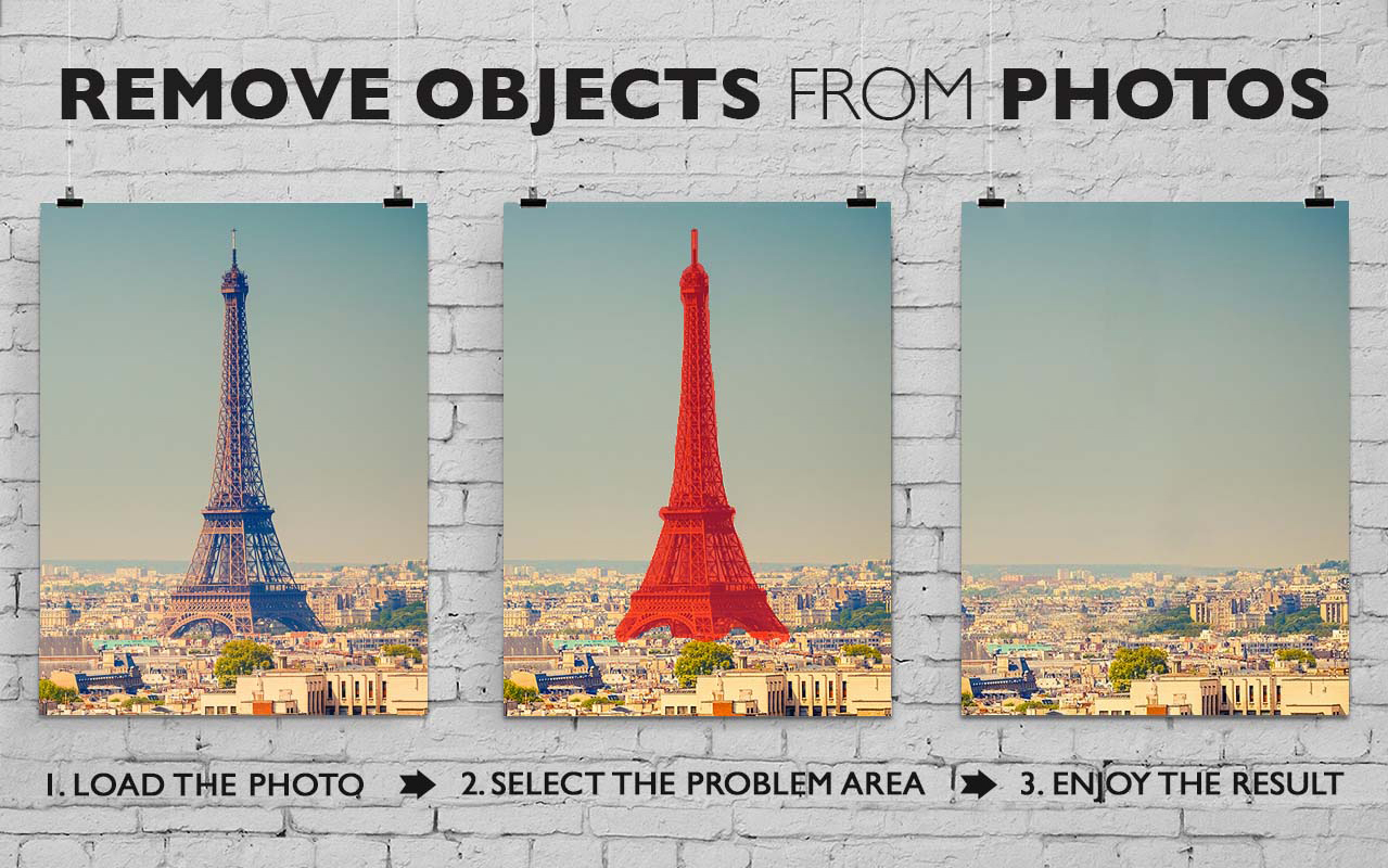 Photo Manipulation Software, Inpaint Screenshot