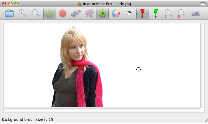 InstantMask Pro, Design, Photo & Graphics Software, Photo Manipulation Software Screenshot