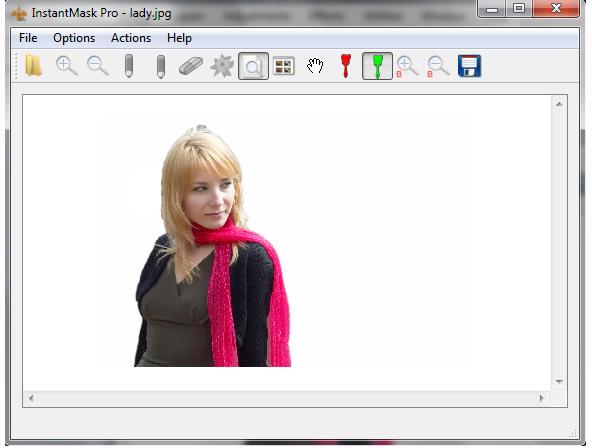 InstantMask Pro, Design, Photo & Graphics Software Screenshot