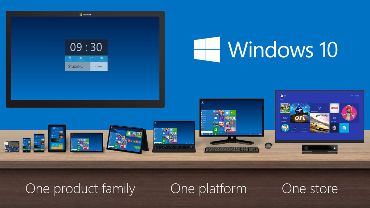 Inside Windows 10 - an early look at Microsoft