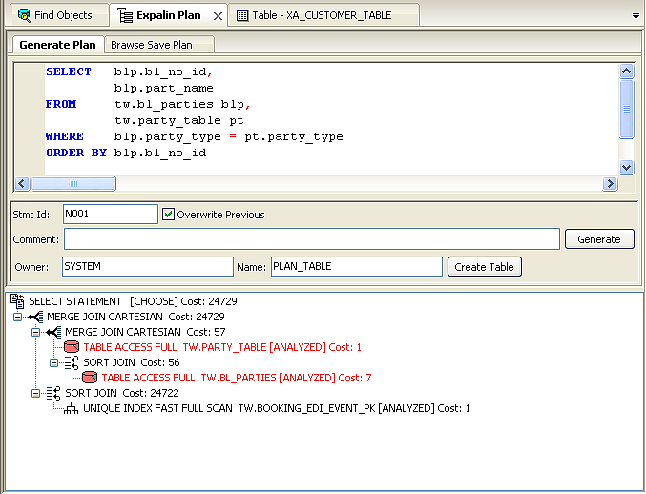 Database Software, Insight Developer for Oracle Screenshot
