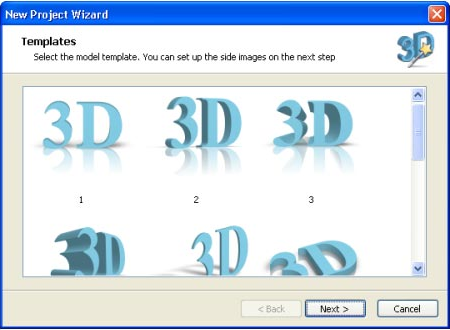 Insofta 3D Text Commander, Graphic Design Software Screenshot