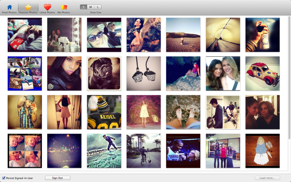 InstaViewer for Mac Screenshot