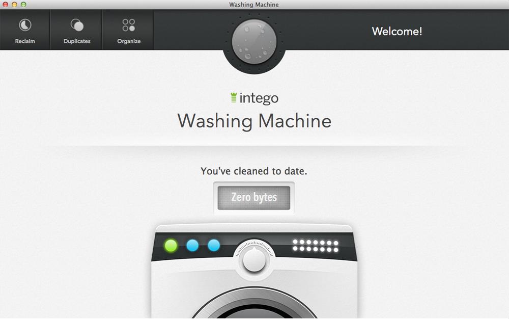 Intego Washing Machine 2014 Screenshot