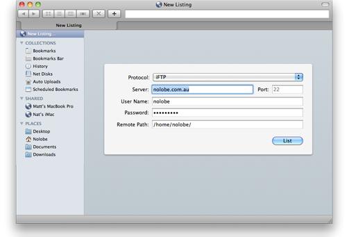 Interarchy Screenshot