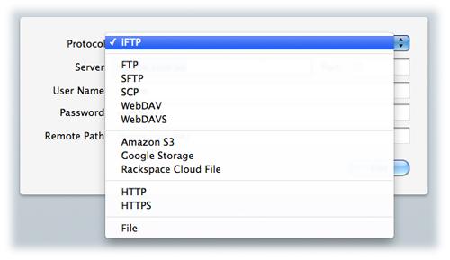Interarchy, Internet Software Screenshot