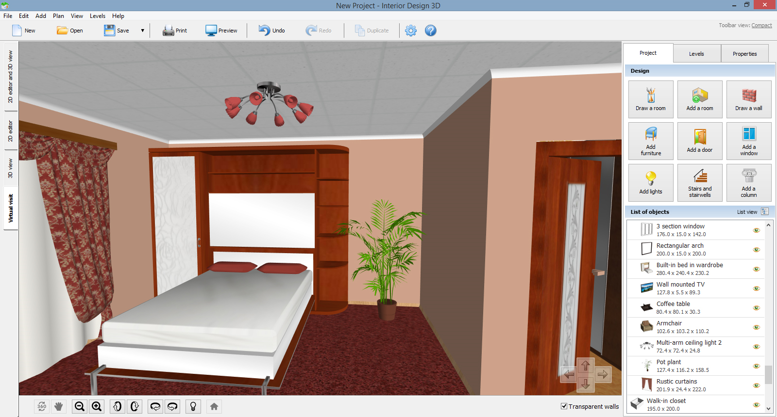 Interior Design 3D - Gold Version Screenshot