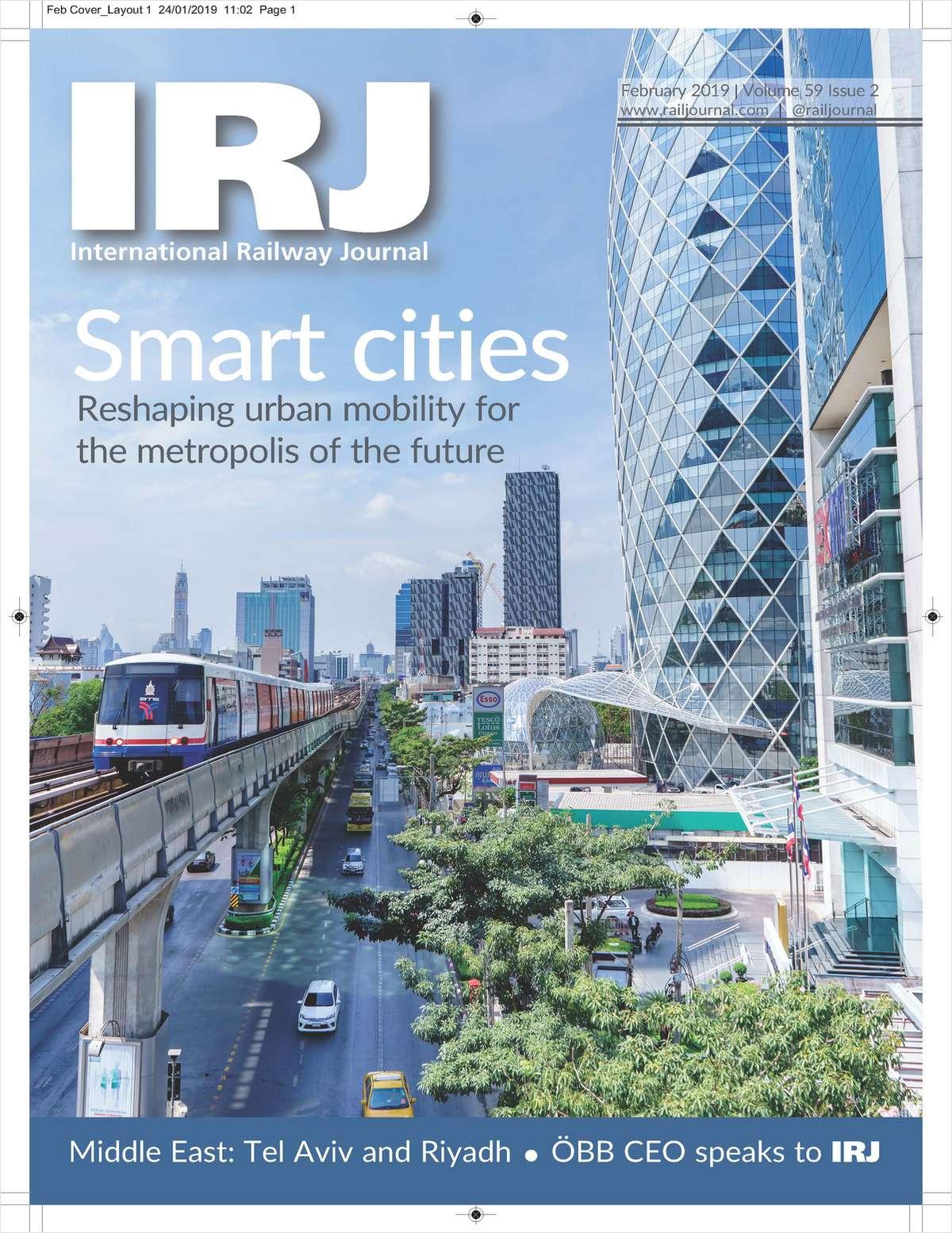 International Railway Journal Screenshot