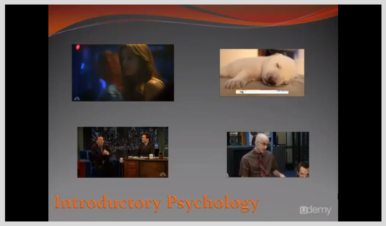 Introductory Psychology -- A Video Textbook, Learning and Courses Software Screenshot