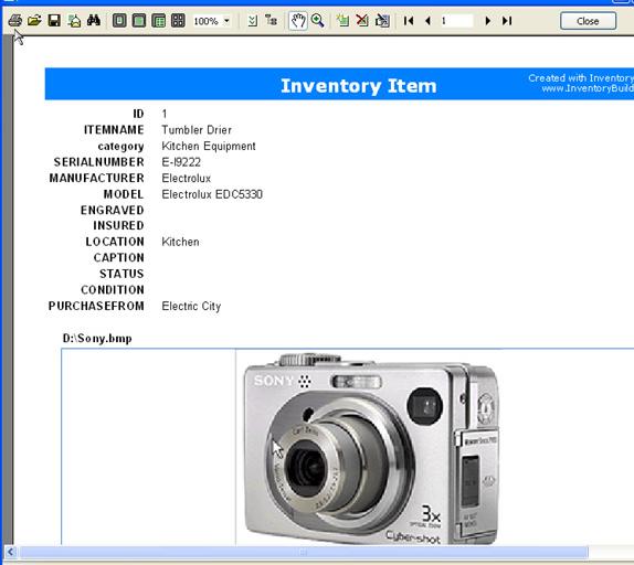 InventoryBuilder Enterprise, Business & Finance Software Screenshot