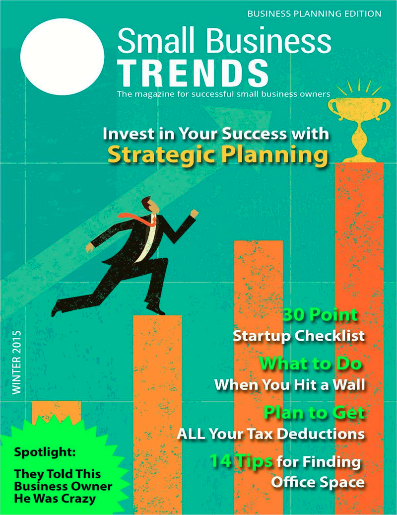Invest in Your Success with Strategic Planning -- Business Planning Issue Screenshot