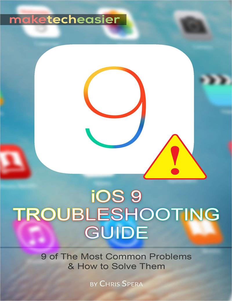 iOS 9 Troubleshooting Guide Screenshot