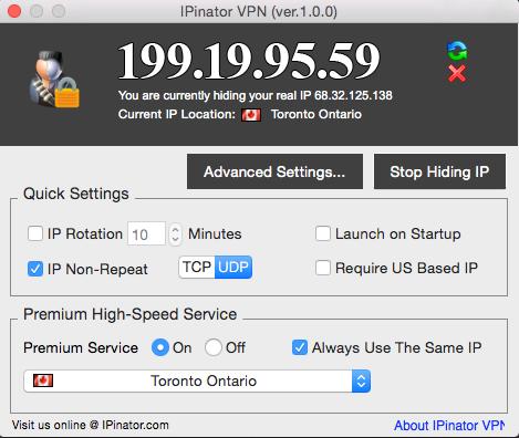 IPinator VPN + SmartDNS Bundle Screenshot