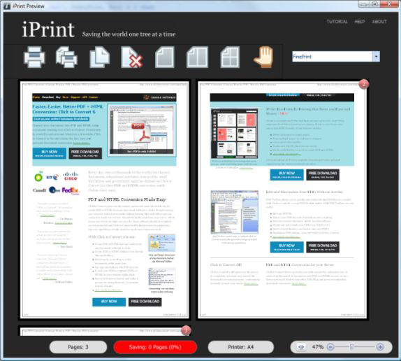 iPrint Screenshot