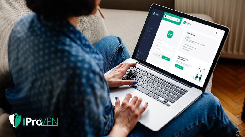 iProVPN - Lifetime Plan with 10 logins, Software License Software Screenshot