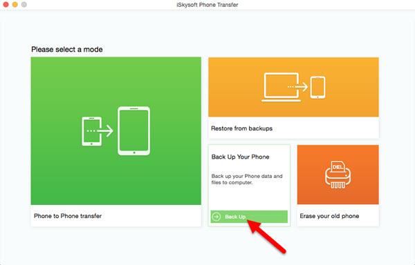 iSkysoft Phone Transfer Screenshot 9