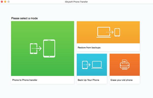 Audio Software, iSkysoft Phone Transfer Screenshot