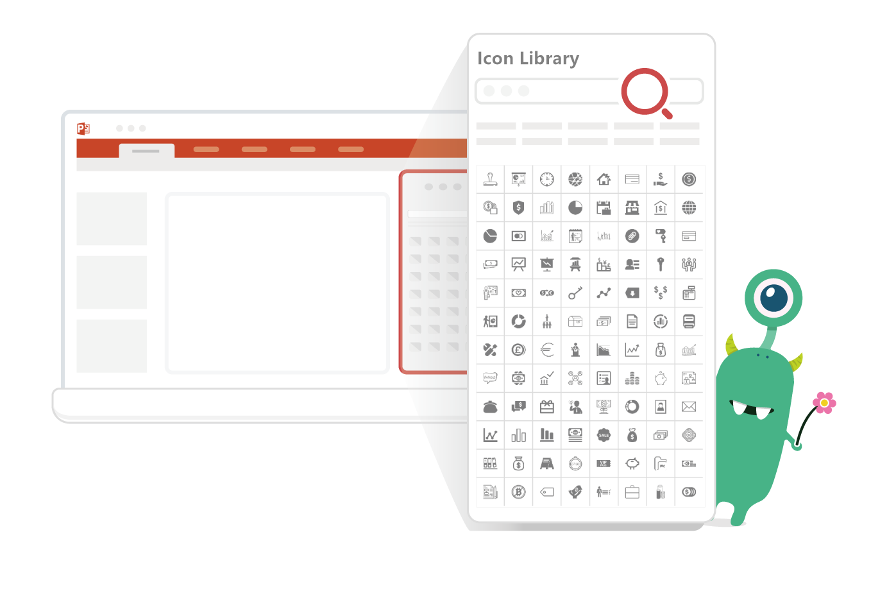 Presentation Software, iSlide PowerPoint Add-in Screenshot