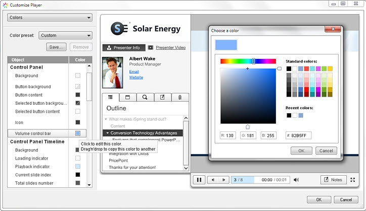 iSpring Pro 6, Business & Finance Software Screenshot