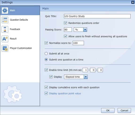 Educational Software, iSpring QuizMaker Screenshot
