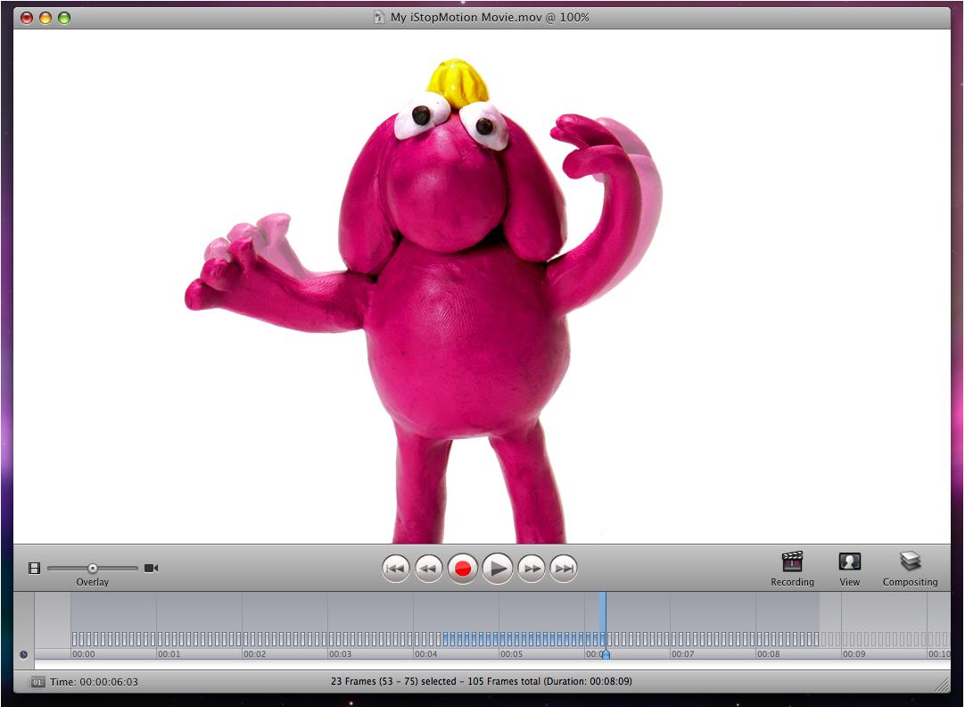 iStopMotion Express, Video Software Screenshot