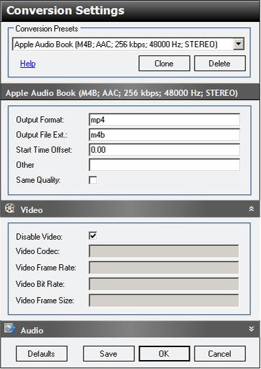 Jaksta for Windows, Video Software Screenshot