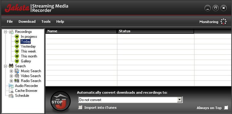 Jaksta for Windows Screenshot